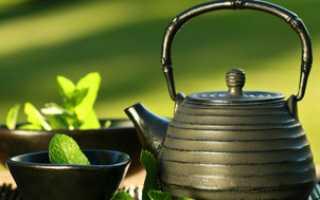 Зеленый чай летом