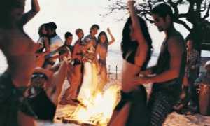 Пляжная вечеринка на Ибице