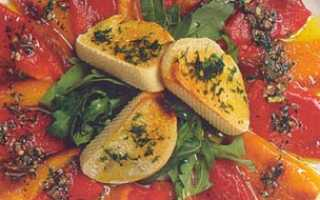 Карпаччо из болгарского перца