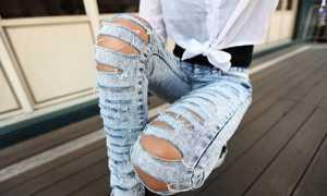 Модели джинсов о характере