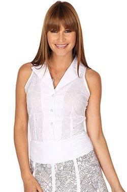 Блуза с американской проймой
