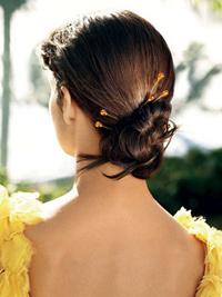 Прически для длинных прямых волос