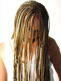 Волосы для африканских косичек