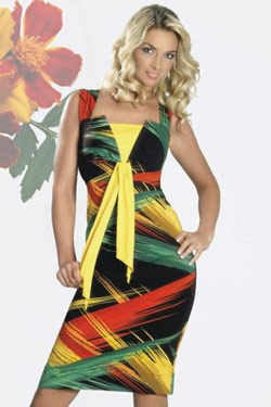 платье геометрия