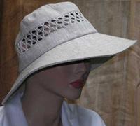 льняные шляпы